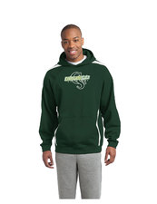 CSU Rams  Sleeve Stripe Pullover Hooded Sweatshirt